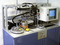 Turbulence Rheometer: lab equipment analyse effect of drag reducer in pipelines.